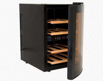 Kleiner Weinkühlschrank : Produkte u003e haus u003e age12wv weinkühlschrank 12 flaschen dual zone